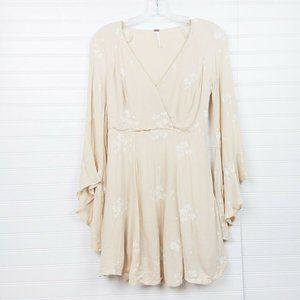 Free People Flawed Jasmine Floral Embroidered Bell